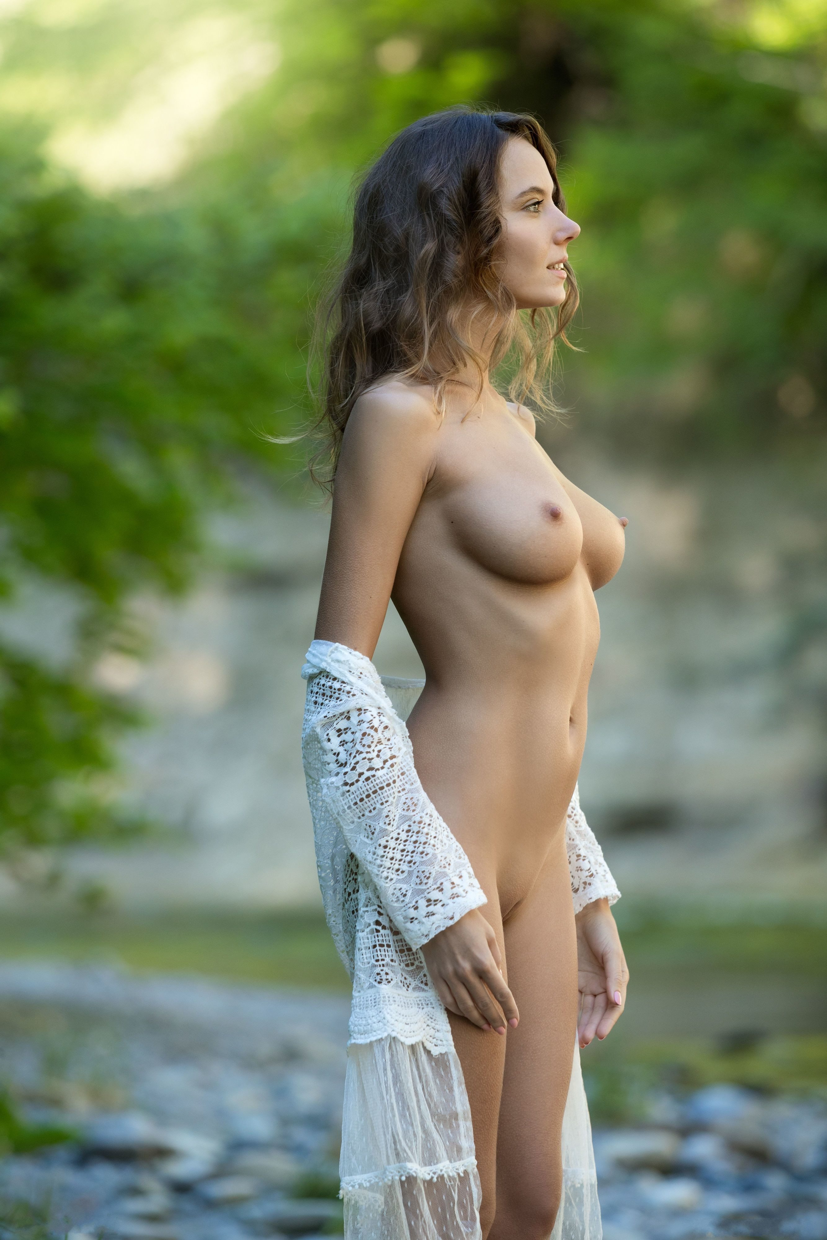 Picture tagged with: Skinny, Blonde, Femjoy, Flawless, Katya Clover - Mango A, Nature