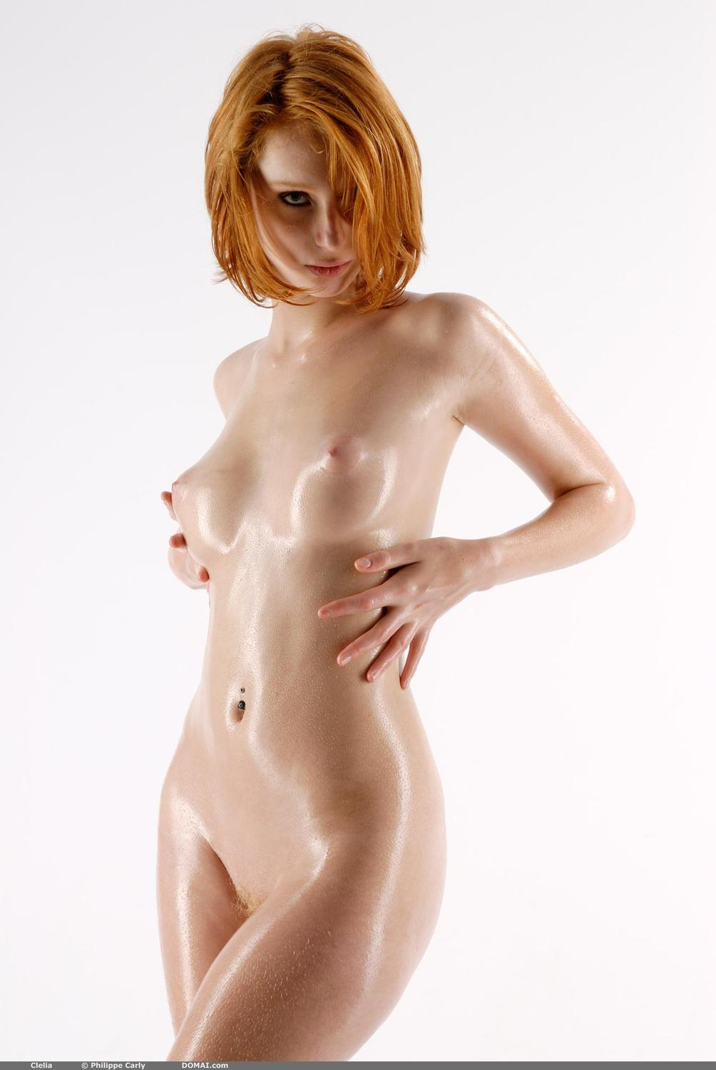 oiled-up-redheads