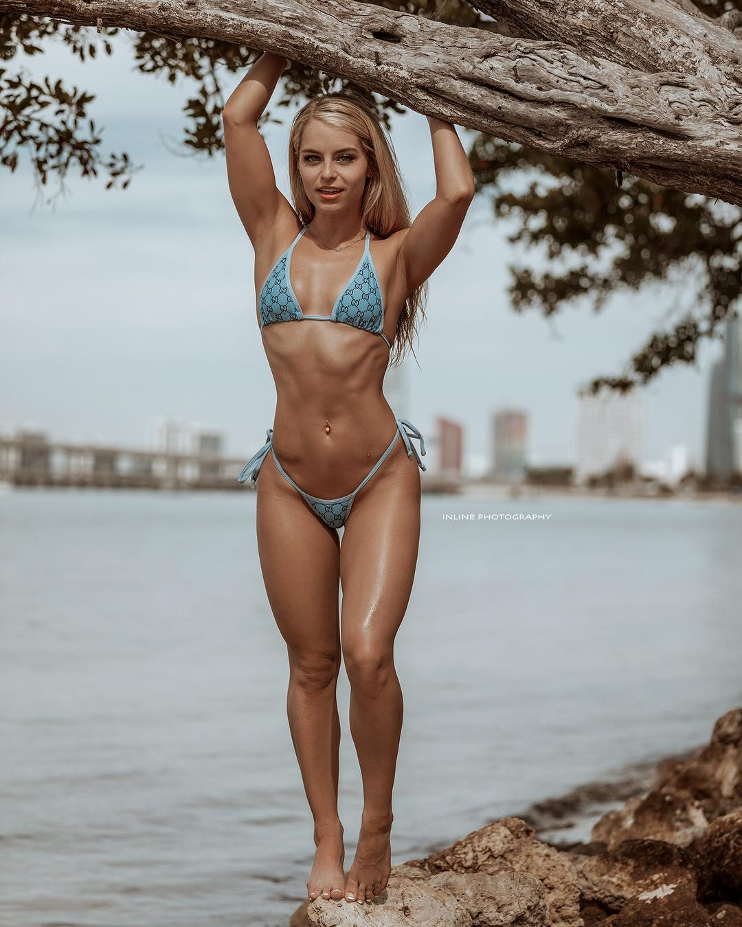 Picture tagged with: Skinny, Blonde, Bri Lauren, Bikini