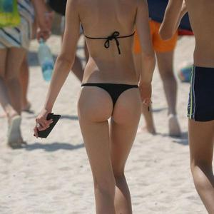 Picture tagged with: Ass - Butt, Beach, Bikini