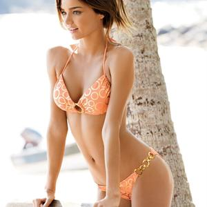Picture tagged with: Bikini, Miranda Kerr, Safe for work