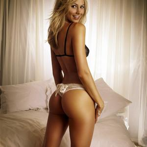 Picture tagged with: Blonde, Ass - Butt, Lingerie, Stacy Keibler