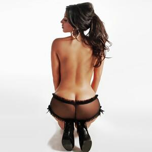 Picture tagged with: Brunette, Ass - Butt, Celebrity - Star, Kim Kardashian, Lingerie