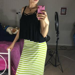 Picture tagged with: Brunette, Bambii Bonsai, Camgirl, Chaturbate, Selfie, nood.tv