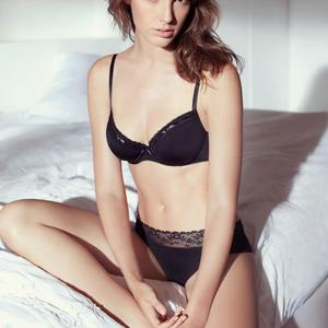Picture tagged with: Brunette, Celebrity - Star, Gal Gadot, Lingerie, Safe for work