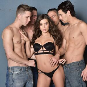 Picture tagged with: Brunette, Lana Rhoades, Lingerie
