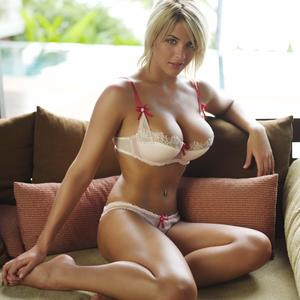 Picture tagged with: Busty, Blonde, Gemma Atkinson, Lingerie