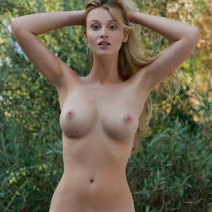 Picture tagged with: Femjoy, Blonde, Boobs, Carisha, Nature