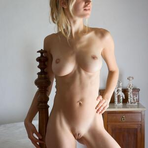 Picture tagged with: Femjoy, Busty, Blonde, Corinna, No Hurry