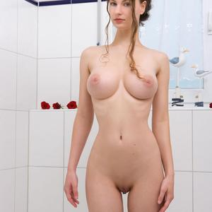 Picture tagged with: Femjoy, Busty, Milk Bath, Susann