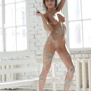 Picture tagged with: MET Art, Brunette, Aramiro, Foxy Di - Nensi B
