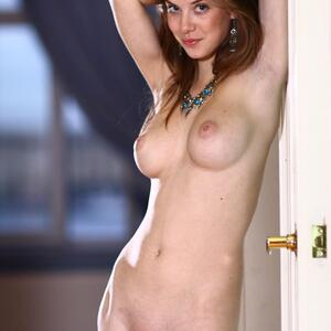 Picture tagged with: MET Art, Brunette, Boobs, Bringing, Danica - Anita C, Tummy