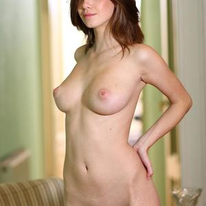 Picture tagged with: MET Art, Brunette, Danica - Anita C, Presenting Anita