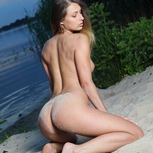 Picture tagged with: MET Art, Brunette, Duaz, Nature, Yarina A