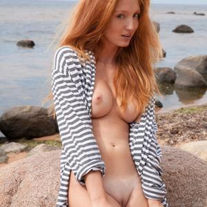 Picture tagged with: MET Art, Redhead, Fugite, Michelle H