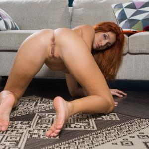 Picture tagged with: MET Art, Redhead, Michelle H, Trisso