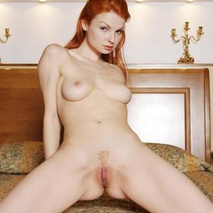 Picture tagged with: MET Art, Redhead, Natalia A