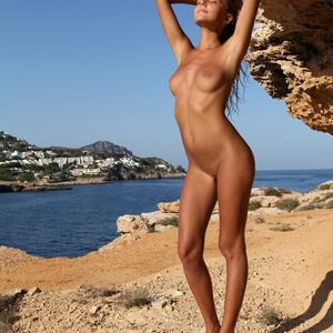 Picture tagged with: MET Art, Skinny, Blonde, Amaret, Katya Clover - Mango A, Nature