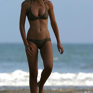 Picture tagged with: Skinny, Blonde, Beach, Bikini
