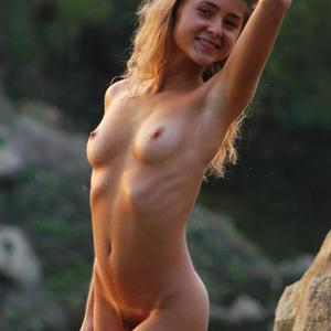 Picture tagged with: Skinny, Blonde, Small Tits