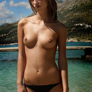 Picture tagged with: Skinny, Brunette, Small Tits