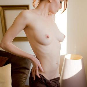 Picture tagged with: Skinny, Redhead, Small Tits