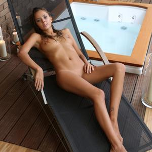 Picture tagged with: Watch4Beauty, Blonde, Jacuzzi, Katya Clover - Mango A