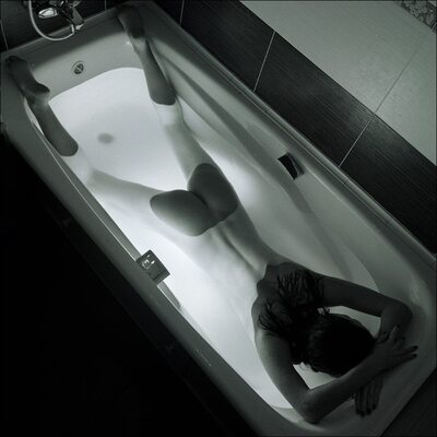 Picture tagged with: Bath, Black and White