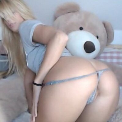 Picture tagged with: Blonde, Camgirl, Chaturbate, Jana Volkova, Ass - Butt
