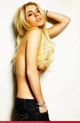 Picture tagged with: Blonde, Celebrity - Star, Lindsay Lohan