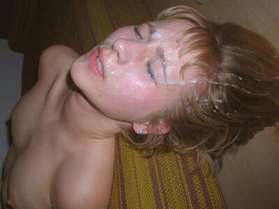 Picture tagged with: Blonde, Cumshot, Facial