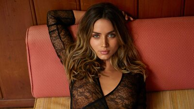 Picture tagged with: Brunette, Ana de Armas, Celebrity - Star, Eyes