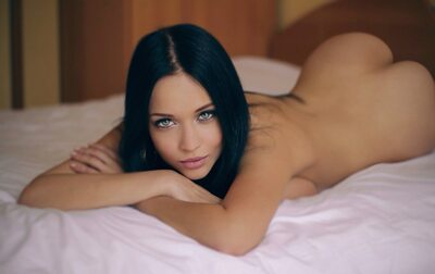 Picture tagged with: Angelina Petrova, Brunette, Ass - Butt, Eyes