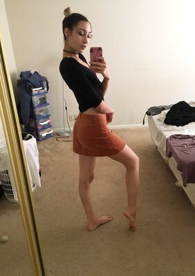 Picture tagged with: Bambii Bonsai, Brunette, Camgirl, Chaturbate, nood.tv, Selfie
