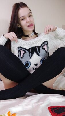 Picture tagged with: Brunette, Camgirl, Chaturbate, MeowMeowMay