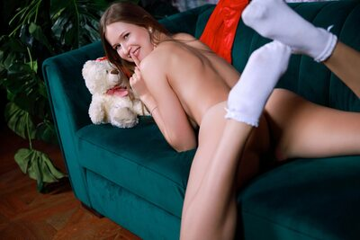 Picture tagged with: Brunette, Camgirl, Stella Cardo, Ass - Butt, Smiling