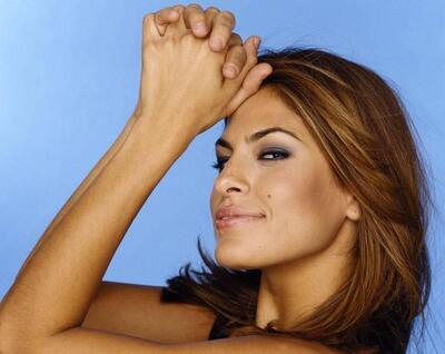 Picture tagged with: Brunette, Eva Mendes, Celebrity - Star, Face, Safe for work