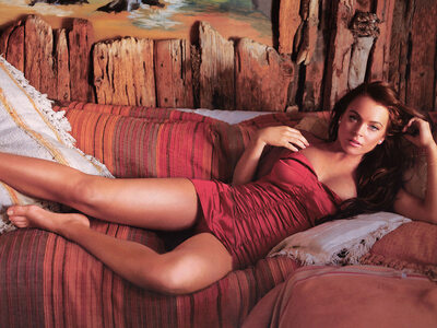 Picture tagged with: Brunette, Celebrity - Star, Lindsay Lohan
