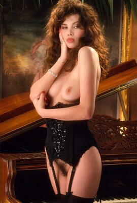 Picture tagged with: Brunette, Fawna MacLaren, Lingerie, Vintage
