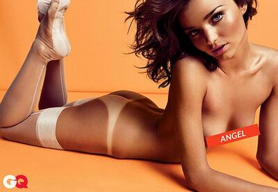 Picture tagged with: Brunette, Miranda Kerr