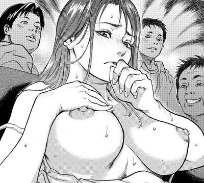 Picture tagged with: Black and White, Busty, Boobs, Hentai