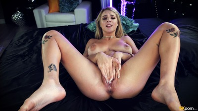 Picture tagged with: Busty, Blonde, Boobs, Gabbie Carter, Masturbation, Tattoo