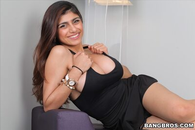 Picture tagged with: Brunette, Busty, Mia Khalifa - Mia Callista, Boobs