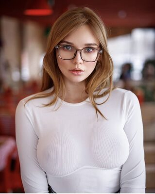 Picture tagged with: Busty, Natalia Tihomirova, Redhead, Boobs, Eyes