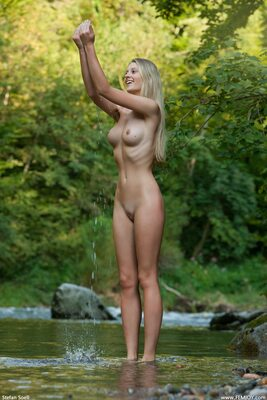 Picture tagged with: Blonde, Carisha, Femjoy, Silent Waters