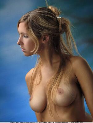 Picture tagged with: Femjoy, Busty, Blonde, Arielle, Corinna