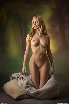Picture tagged with: Femjoy, Busty, Blonde, Corinna, Fairy Tale