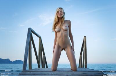 Picture tagged with: Femjoy, Busty, Blonde, Corinna, Good Vibrations