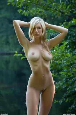 Picture tagged with: Femjoy, Busty, Blonde, Corinna