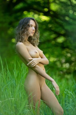 Picture tagged with: Femjoy, Skinny, Blonde, Flawless, Katya Clover - Mango A, Nature
